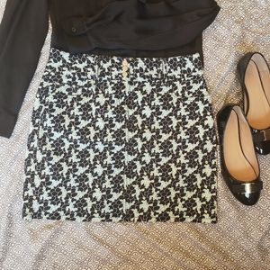 Ann Taylor LOFT skirt cotton/spandex mixture